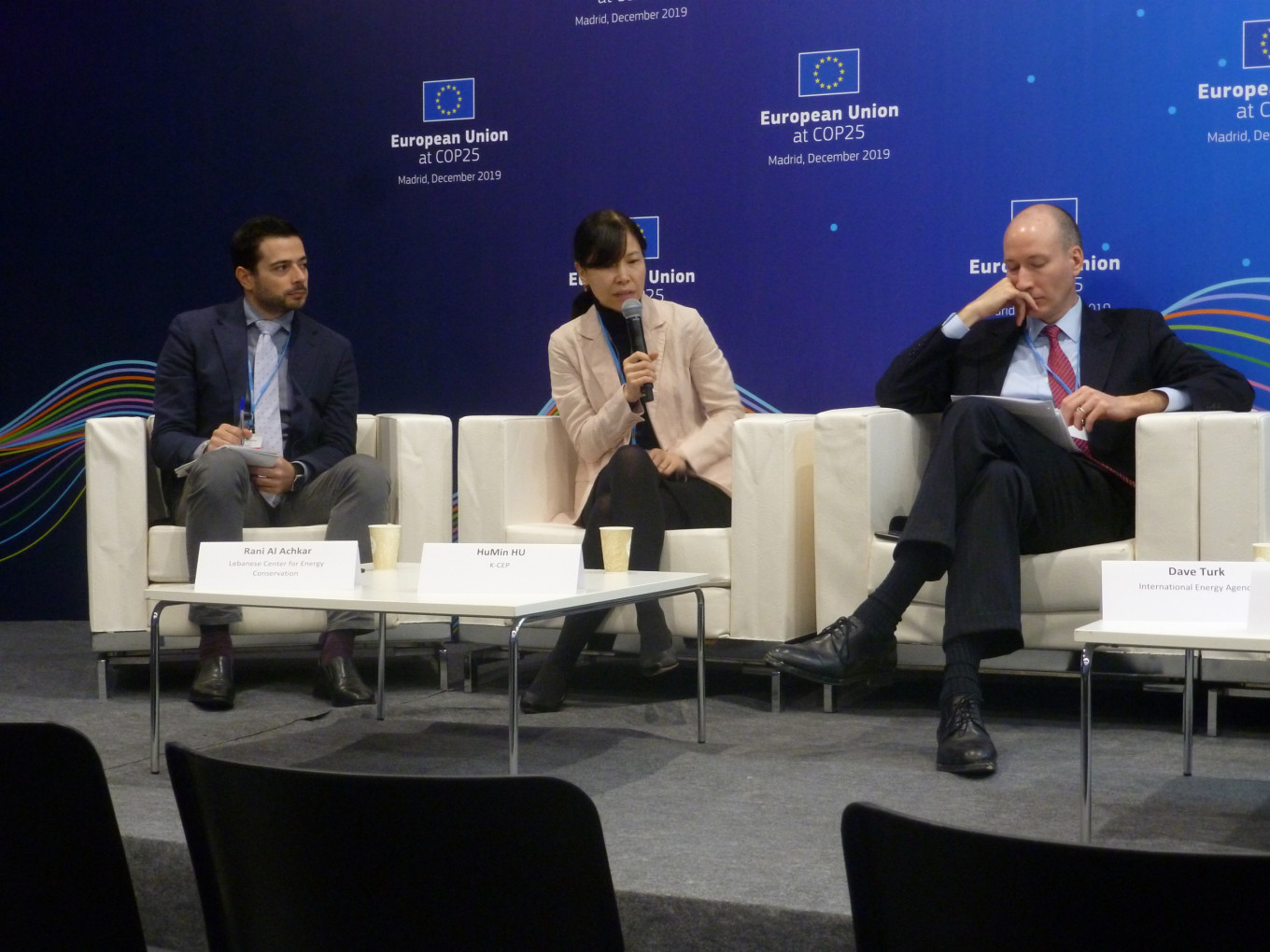 Panelists discuss barriers and solutions to improved energy performance of the global buildings sector © Guidehouse
