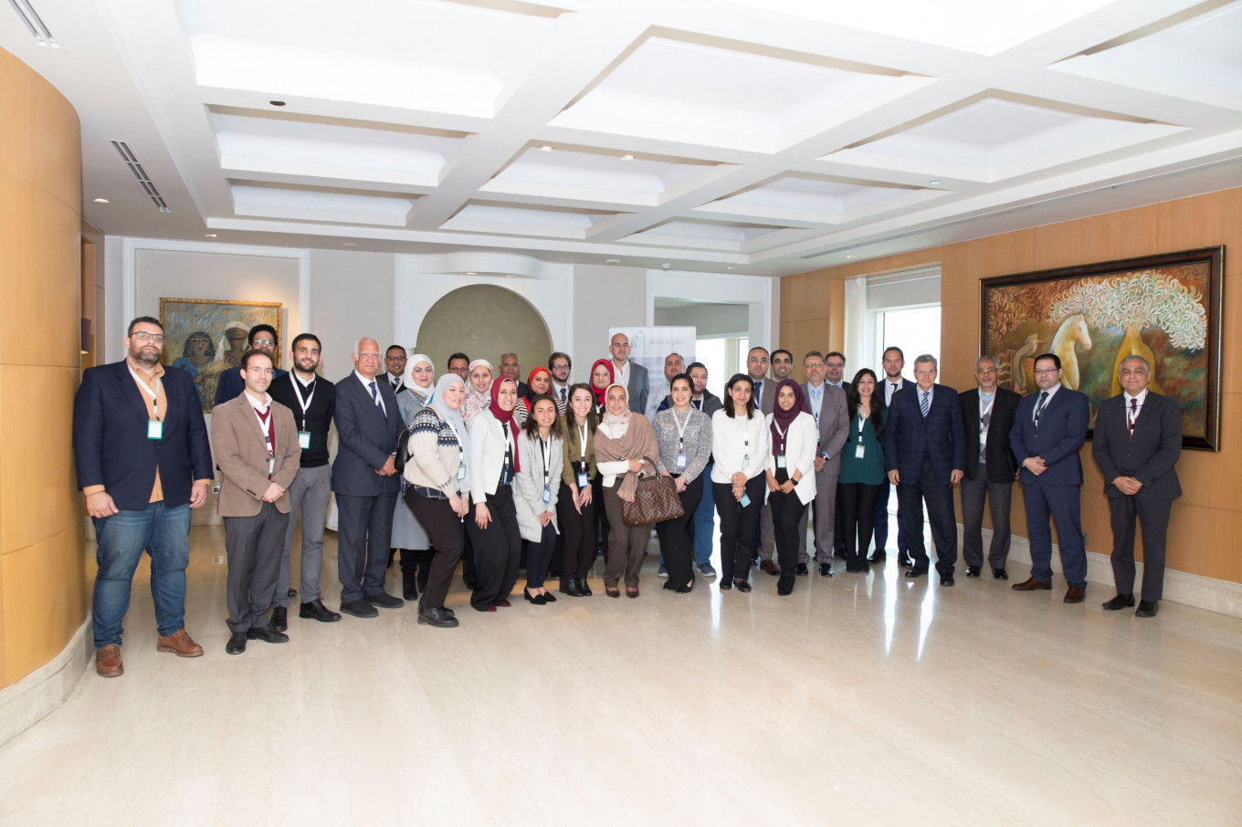Some of the attendees of the national kick-off workshop in Cairo, Egypt that took place on the 3 March 2020 © IDG