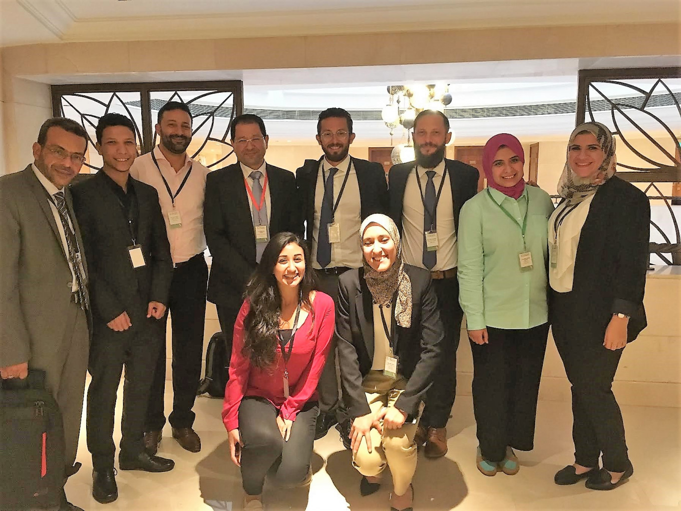 The implementation team for Egypt, consisting of Guidehouse and Integrated Development Group team members.